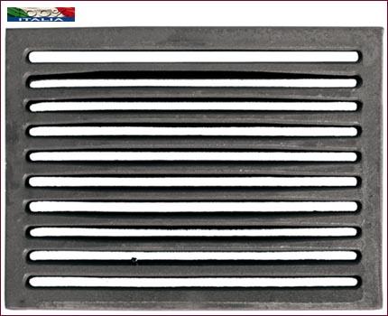 Griglia Rettangolare in Ghisa 100×362 mm